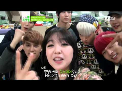 [ENG SUB] 130529 VIXX With Girl's Day Minah
