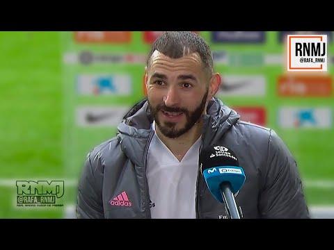 Declaraciones de BENZEMA post Atléti 1-1 Real Madrid (07/03/2021) #AtletiRealMadrid