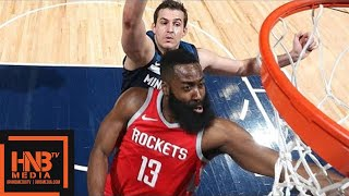 Houston Rockets vs Minnesota Timberwolves Full Game Highlights / March 18 / 2017-18 NBA Season