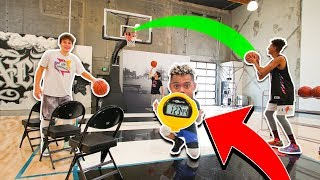 2HYPE NBA BASKETBALL OBSTACLE COURSE CHALLENGE !!