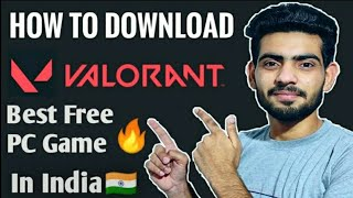 How To Download And Install Valorant On a PC - YTSG❤️