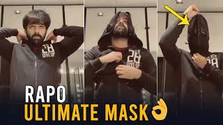 Tollywood hero Ram new look after lockdown, viral gym vide..