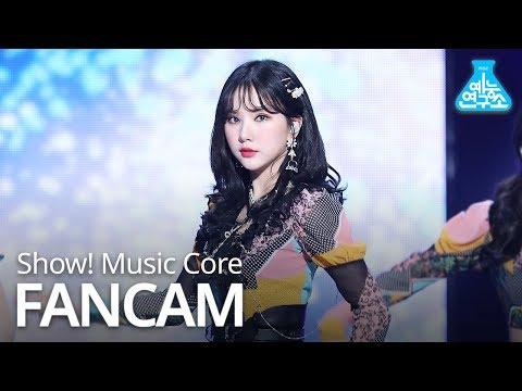 [예능연구소 직캠] GFRIEND - Sunrise (EUNHA), 여자친구 - 해야 (은하) @Show Music core 20190202