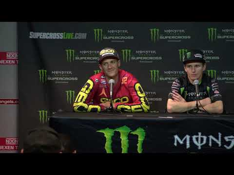 250SX and 450SX Post Race Press Conference: A2 - Race Day LIVE 2018