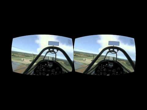 War Thunder on the Oculus Rift - Spitfires