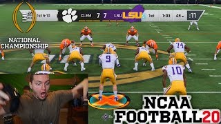 College Football National Championship, but in NCAA Football 20