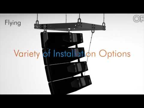 TOA HX5 and HX7 Sales Series Line Array Overview