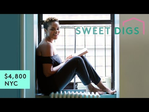 What $4,800 Will Get You In NYC | Sweet Digs Home Tour | Refinery29