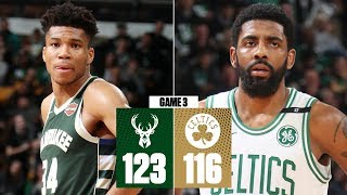 Giannis scores 32 points in Bucks' dominant Game 3 win over Celtics   NBA Highlights