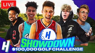 $100,000 Golf CHALLENGE with MMG, TJass, Jesser and Kris London | HoH Showdown