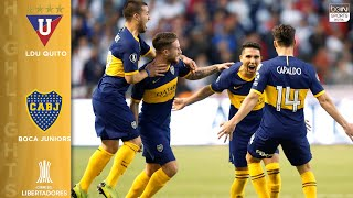 LDU Quito 0-3 Boca Juniors - HIGHLIGHTS AND GOALS