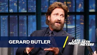 Gerard Butler Almost Overdosed on Bee Venom