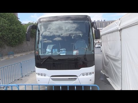Neoplan Tourliner Efficient Line EEV Bus (2016) Exterior and Interior in 3D