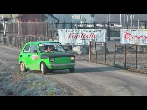HIT: Waldemar Janecki   Fiat 126 PROTO honda CBR   WRT Rally Oes - Motul Proszowice [MotoRecords.pl]