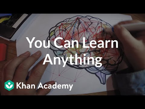 You can learn anything kahn