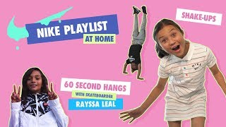 Skateboarders Sky Brown and Rayssa Leal Get Moving | Nike PLAYlist | Nike