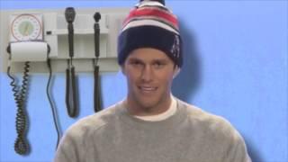 Tom Brady has a testicular exam -