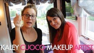 My friend did my makeup, her name is Kaley Cuoco | Jamie Greenberg Makeup