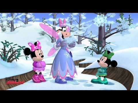 Minnie's Winter Bow-Show - Giant Snowflakes! - Disney Junior UK HD