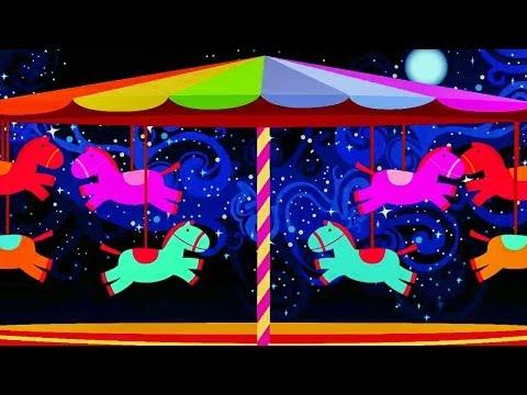 ♫ 3 HORAS ♫ - Relajar y Dormir Bebés - Carrusel de Caballitos - Música para Bebés #