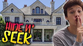 CRAZY GAME OF HIDE AND SEEK IN THE 2HYPE MANSION!!
