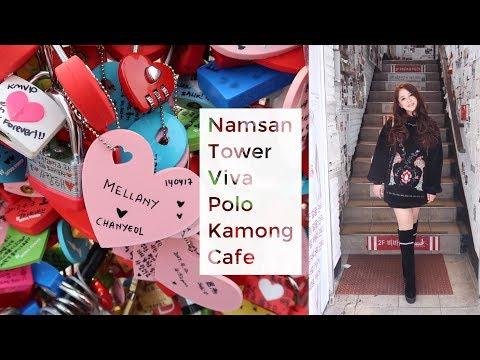 Namsan Tower | Viva Polo Chanyeol | Kamong Cafe Kai