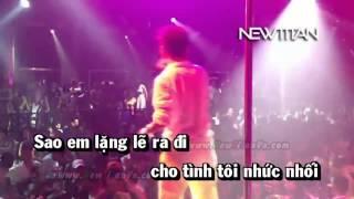 Karaoke Đợi Em Trong Mơ Remix   Đàm Vĩnh Hưng Full Beat