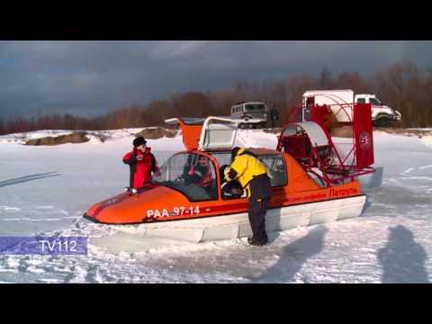Комплексная тренировка спасателей в преддверии паводка прошла в Архангельске mp4