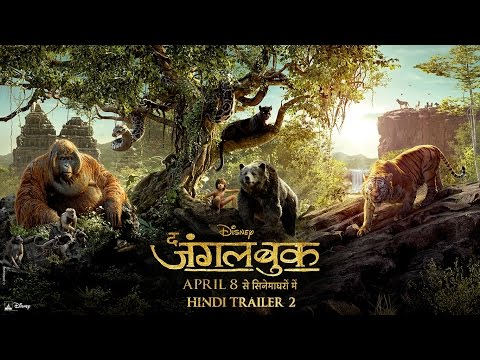 The Jungle Book  - Official  Bollywood Trailer