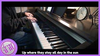 Part of Your World - The Little Mermaid   【Piano Karaoke Instrumental】