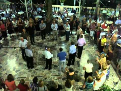 Baile del sábado noche el Balneario Hervideros de Cofrentes.MOV