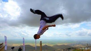 Surprise Tricking session in Mardin Turkey (Parkour, Freerunning)