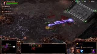Starcraft 2 Heart Of The Swarm [Part 2] Destroying Ships and Changed Friends