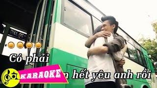 [KARAOKE] Anh Khác Hay Em Khác - Khắc Việt | Beat Chuẩn