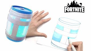 NEW Learn How To Draw A Chug Jug From Fortnite! Easy Step By Step Drawing Fortnite Chug Jug for Kids