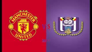 Man united vs Anderlecht next match (europa league)!!!