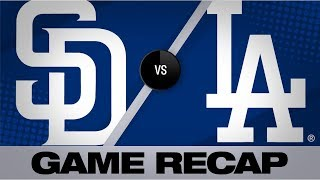 Renfroe leads Padres to 3-2 win vs. Dodgers | Padres-Dodgers Game Highlights 7/5/19