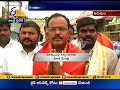I prayed Balaji to fulfill  NTR's wish: Motkupalli at Tirumala