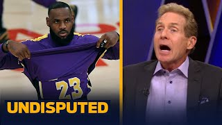 Skip & Shannon react to LeBron changing his stance on the NBA play-in tournament   NBA   UNDISPUTED