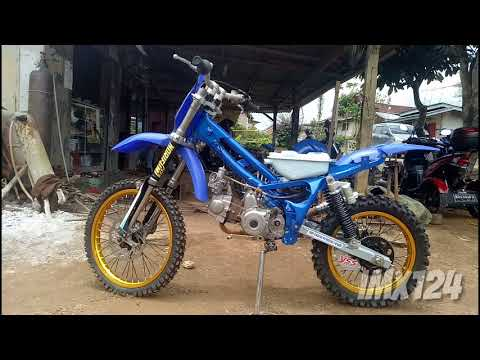 Modifikasi Motor Trail Motorplus Modif Trail Yamaha Vega R Modif