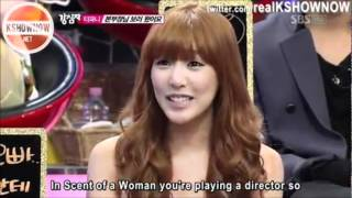Strong Heart Ep 127 - SNSD's Tiffany and Lee Dong Wook [ENG CUT]