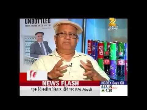 Ramesh Chauhan talks about Bisleri Pop on Zee Business
