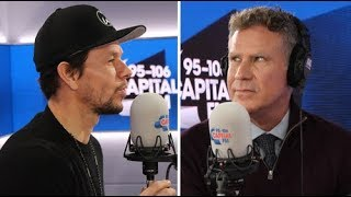 Lie Detector Test: Will Ferrell & Mark Wahlberg