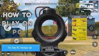 How to Play Rules of Survival on PC!! Top 5 finish!! (Rules of Survival iOS/Android/PC)