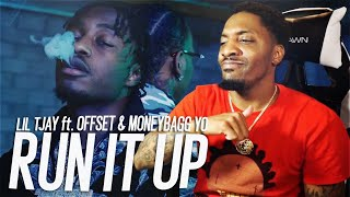 Lil Tjay - Run It Up (Feat. Offset & Moneybagg Yo) (REACTION!!!)