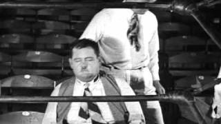 cine mudo El gordo y El flaco 1929 LA BATALLA DEL SIGLO