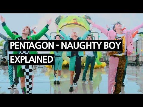 PENTAGON - Naughty boy(청개구리) Explained by a Korean