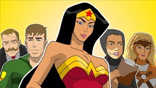 ♪ WONDER WOMAN THE MUSICAL - Animated Parody Song