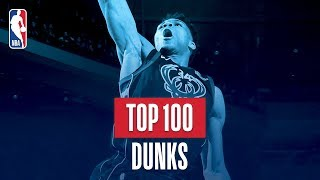 Top 100 Dunks: 2017-2018 NBA Season