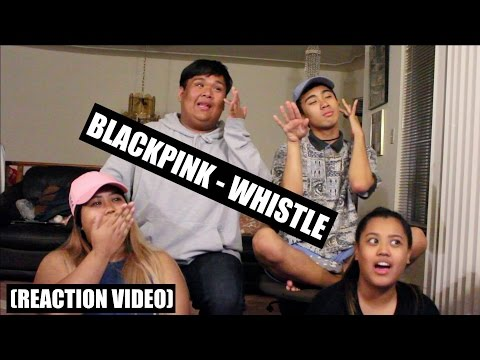BLACKPINK - Whistle (휘파람) || Reaction Video